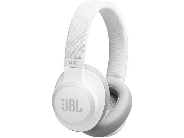 Jbl Live650ncwht Wireless Over Ear Noise Cancelling Headphones Black Newegg Com