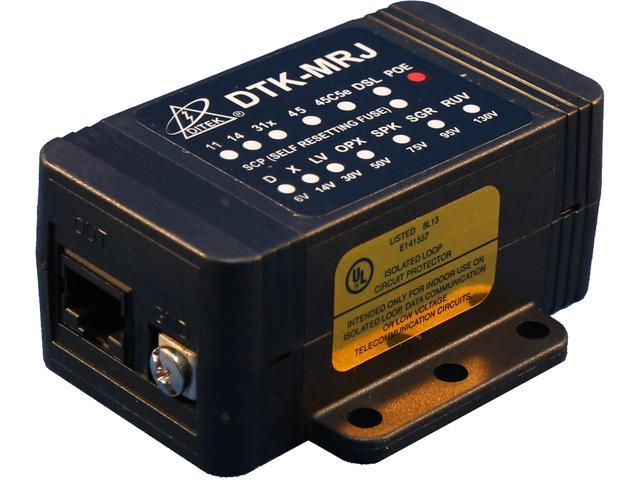 Ditek Dtk-mrjpoe Power Over Ethernet Surge Protection on