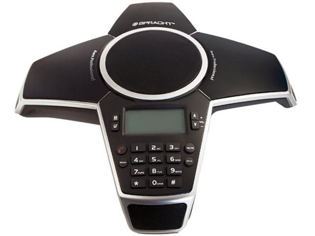 Aura Professional UC Conference Phone - Softphone via USN, Deskphone PSTN,  and Cell via 3 5 mm Audio Cable - Newegg com