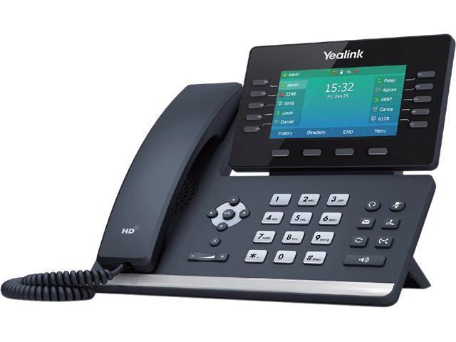 Business Phone Sets & Handsets Digium D80 1TELD080LF TouchScreen ...