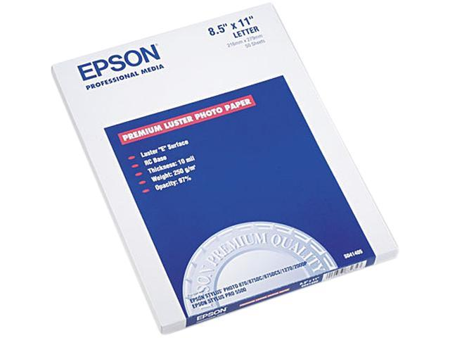 Premium Luster Photo Paper