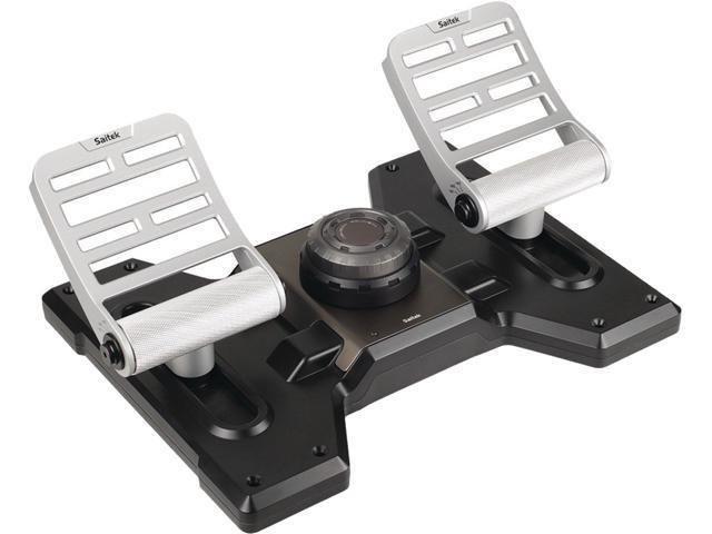 Saitek SCB432020002/02/1 Saitek pro flight combat rudder pedals - Newegg com