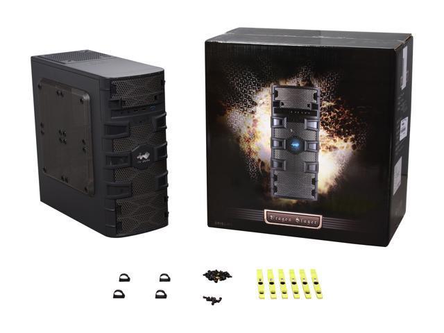 IN WIN Dragon Slayer Black 0 6mm SECC Micro ATX Mini Tower Computer Case -  Newegg com