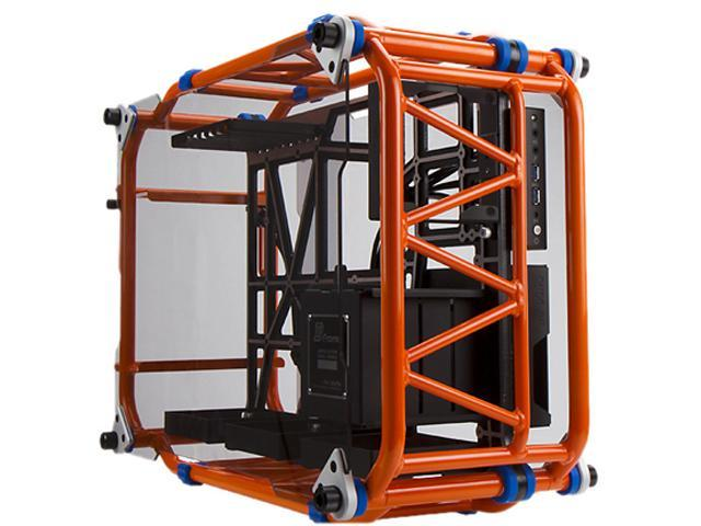 IN WIN D-FRAME Orange Orange (Limited Edition), Open-Air design, ATX  chassis, - Newegg com