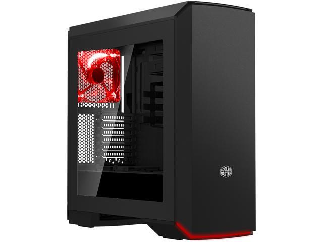 b32a0a508d3 Cooler Master. MasterCase Pro 6 ATX Mid-tower Computer Case with Red LEDs  and Seamless Air Ventilation