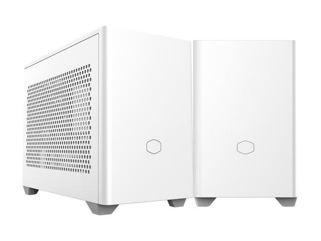 Cooler Master Cooler Master NR200 White SFF Small Form Factor Mini-ITX Case  with Vented Panel, Triple-slot GPU, Tool-Free and 360 Degree Accessibility  - Newegg.com