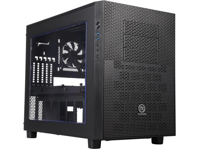 Thermaltake Core X2 Black Micro ATX Stackable Tt LCS Certified Cube Chassis CA-1D7-00C1WN-00
