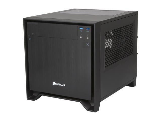 Corsair Obsidian Series 250D (CC-9011047-WW) Black Brushed Aluminum and  Steel Mini-ITX Computer Case ATX (not included) Power Supply - Newegg com
