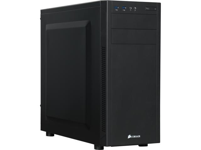 Corsair Carbide Series 100R Silent Edition CC-9011077-WW Black Steel ATX Mid Tower Computer Case (Power Supply Not Included)