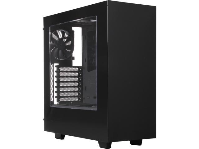 NZXT S340 Glossy Black Steel ATX Mid Tower Case