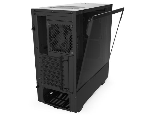 Nzxt H510 Atx Mid Tower Pc Black Gaming Computer Case Newegg Com