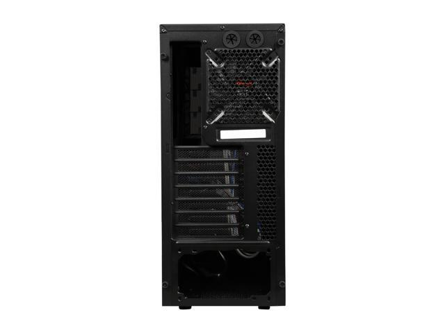 Rosewill Gaming Computer PC Case ATX Mid Tower Blue LED Front Fan CHALLENGER