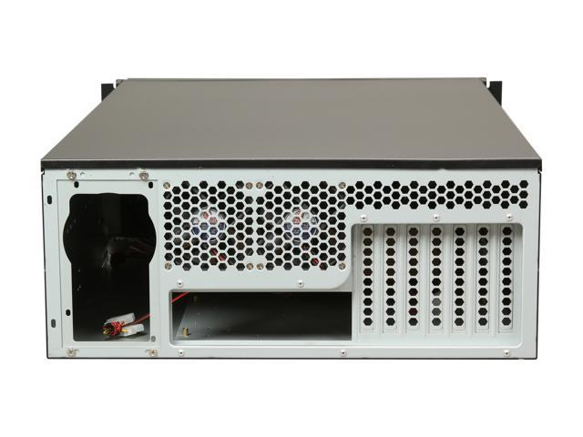 Rosewill RSV-L4500 Black Metal/ Steel, 1 0 mm thickness , 4U Rackmount  Server Chassis, 15 Internal Bays, 8 Included Cooling Fans - Newegg com