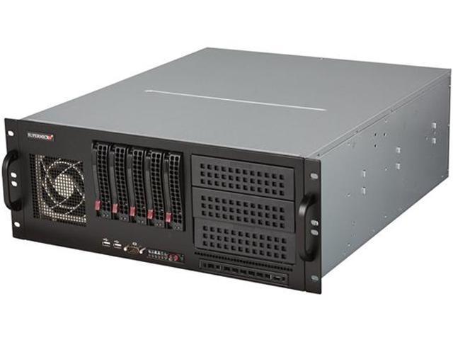 SUPERMICRO CSE-842TQ-865B Black 4U Rackmount Server Chassis - Newegg com