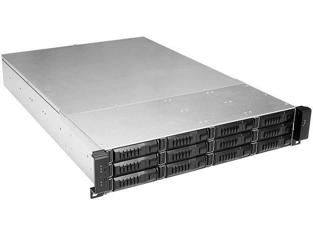 iStarUSA E2M12HD 2U 12-Bay Storage Server Rackmount Chassis 12Gb/s HDD SSD  SFF-8643 Backplane - Newegg com