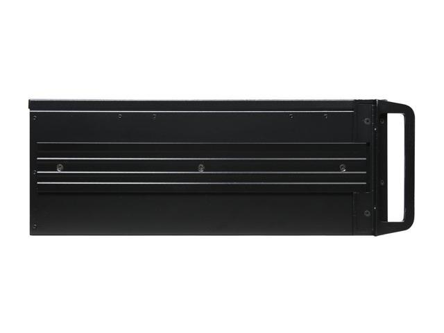 ARK 4U-500-CA Black 4U Rackmount Case 3 External 5 25