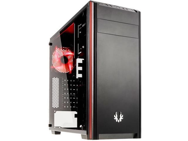 BitFenix Nova TG Black ATX/mATX/Mini ITX Midi Tower Case - Tempered Glass Window BFX-NTG-100-KKWSK-RP