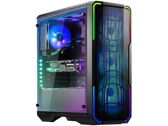 White BitFenix ENSO BFC-ENS-150-WWWGK-RP No Power Supply ATX Mid Tower