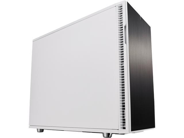 Fractal Design Define R6 White Brushed Aluminum/Steel ATX Silent Modular  Mid Tower Computer Case - Newegg com