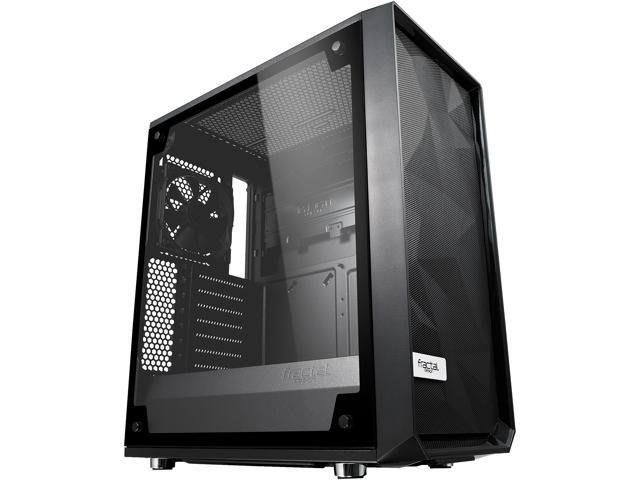 Fractal Design MESH-C-BKO-TGL Meshify C Black ATX High-Airflow Compact Light Tint Tempered Glass