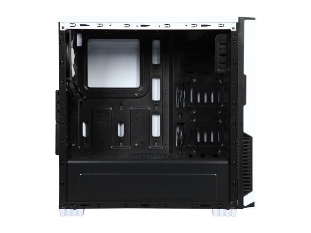 DIYPC Jax11-W White USB 3.0 ATX Mid Tower Computer Case with Pre-installed Fan