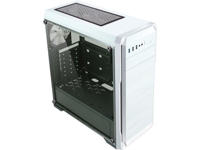 DIYPC DIY-A1-W USB 3.0 ATX Mid Tower Computer Case