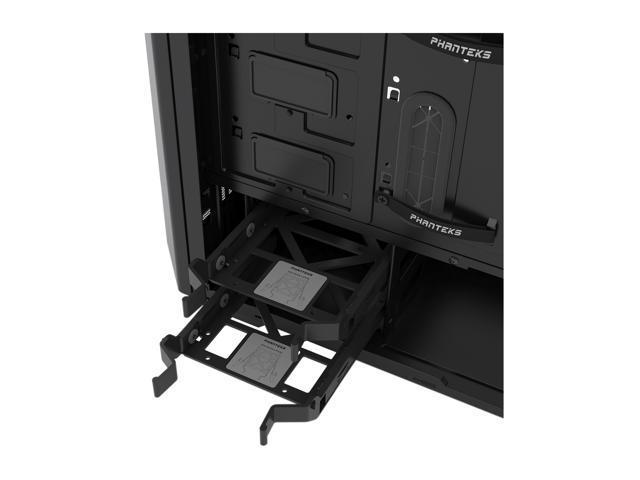 Phanteks Eclipse P400 PH-EC416PTG/_BK Satin Black Tempered Glass//Steel ATX Mid To