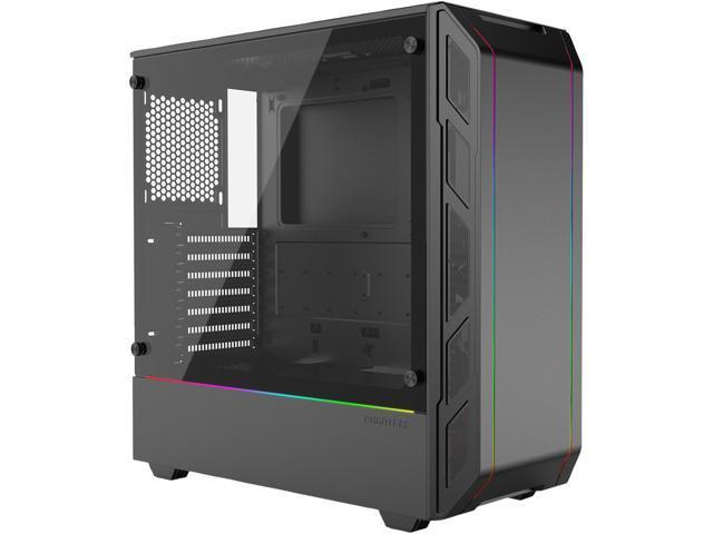 Phanteks Eclipse P350X PH-EC350PTG_DBK Black Compact EATX Mid-Tower,  Tempered Glass, Digital RGB Computer Case - Newegg com