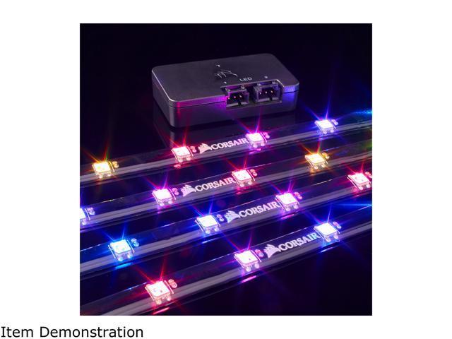 CORSAIR Lighting Node PRO CL-9011109-WW, RGB Lighting Controller with  Individually Addressable RGB LED Strips - Newegg com