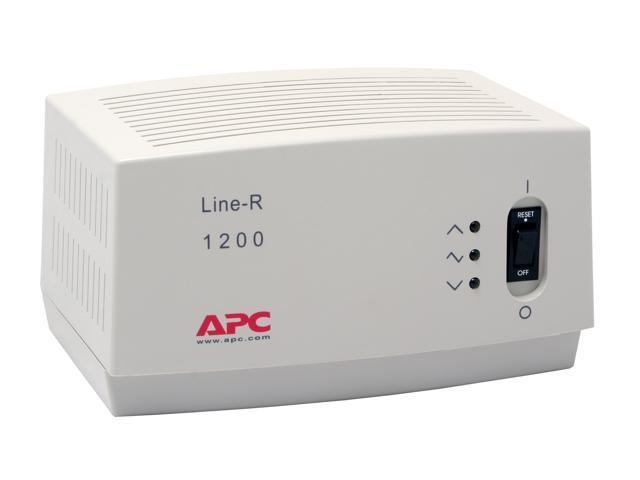 APC LE1200 6 5 Feet 680 Joules 1200VA Automatic Voltage Regulator -  Newegg ca