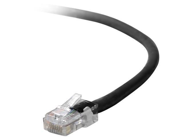 10ft Belkin Components Belkin Cable Patch CAT5-UTP RJ45M PUR Snagless A3L791-10-PUR-S