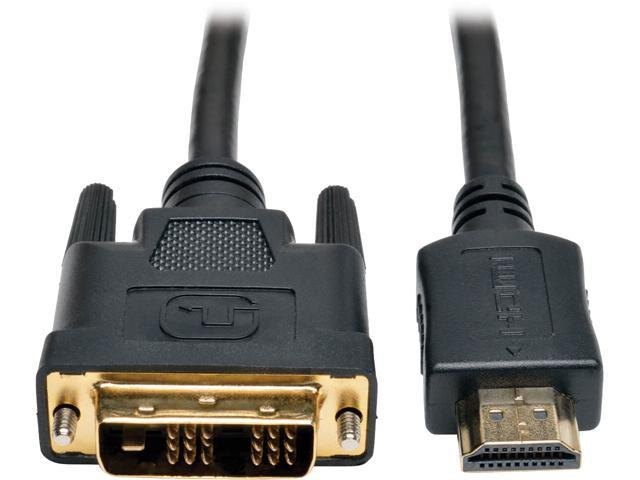 2x 6FT HDMI to DVI D 24+1 Male Gold Plated Adapter Cable HDTV LED LCD Cord Plug