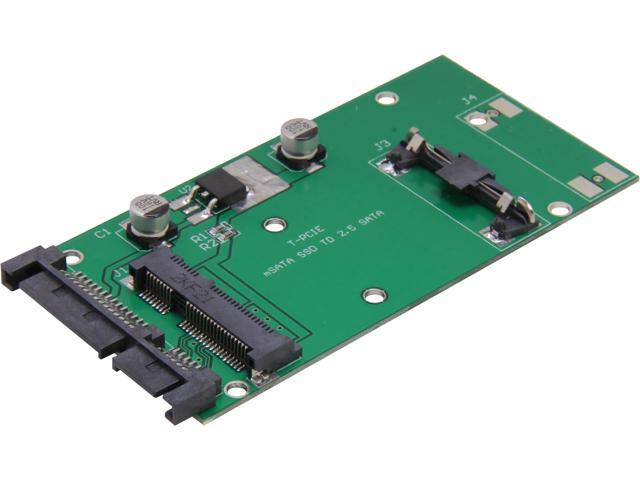 Renice Half-Mini mSATA to 2.5-inch SATA II SSD Adapter Board