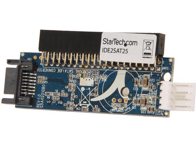 StarTech.com IDE2SAT25 40 Pin Female IDE to SATA Adapter Converter - Connect a SATA