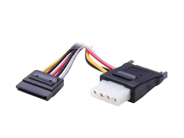 StarTech Cable PYO2LP4LSATA 2x SATA Power Y Splitter Adapter Cable