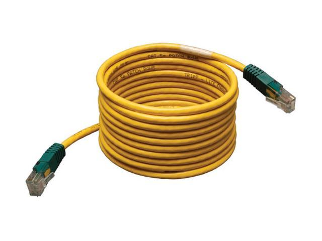 N010-007-GY 7-ft. Tripp Lite Cat5e 350MHz Molded Cross-over Patch Cable RJ45 M//M - Gray