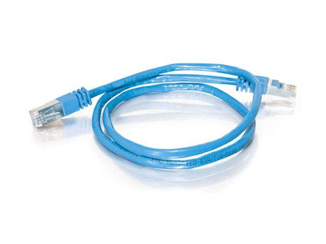 C2G 28701 75 ft. Cat 5E Blue Shielded Molded Patch Cable - Newegg.com