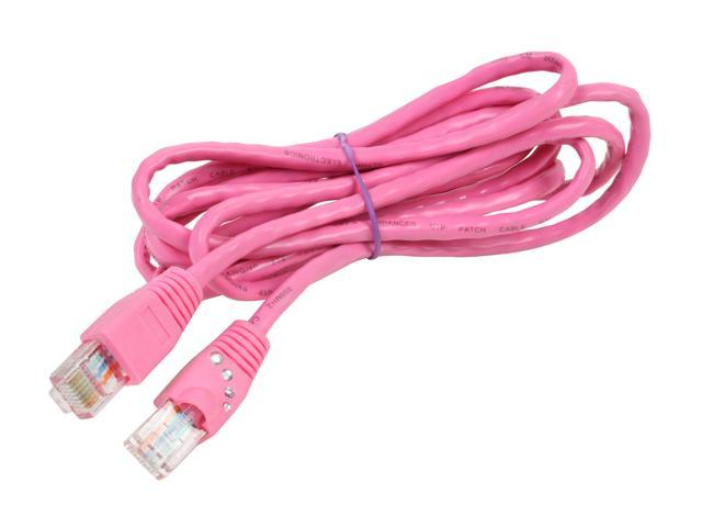 Cables Unlimited UTP-1700-14R Cat5e Crimped Patch Cable Cables Unlimited 14 feet, Red IT