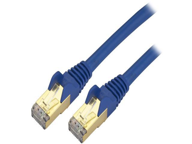 3 Blue Cat6a Patch Cable Electronics Computer Accessories