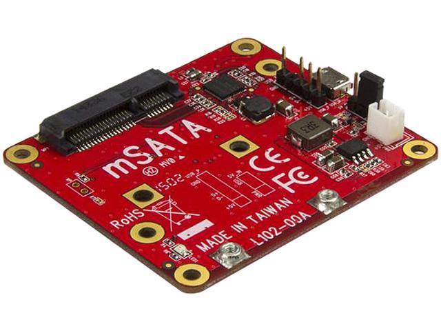 USB to mSATA Converter for Raspberry Pi and Development Boards - USB to  mini SATA Adapter for Raspberry Pi - Newegg com