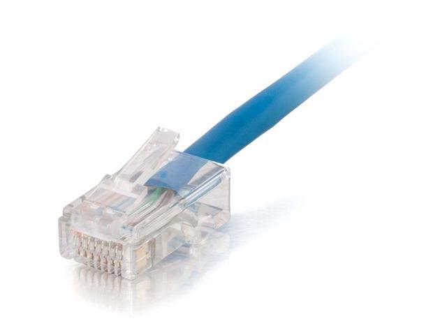 150Ft Cat.5E Non-Boot Patch Cable Blue