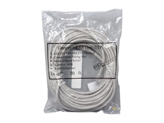 7 Foot Color:Orange Pack of 5 SONOVIN Cat5e Orange Ethernet Patch Cable Bootless