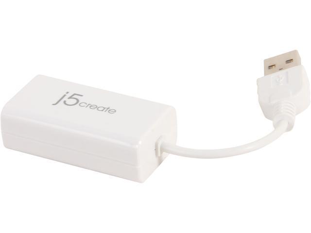 J5CREATE JUE120 USB 2.0 ETHERNET ADAPTER TREIBER