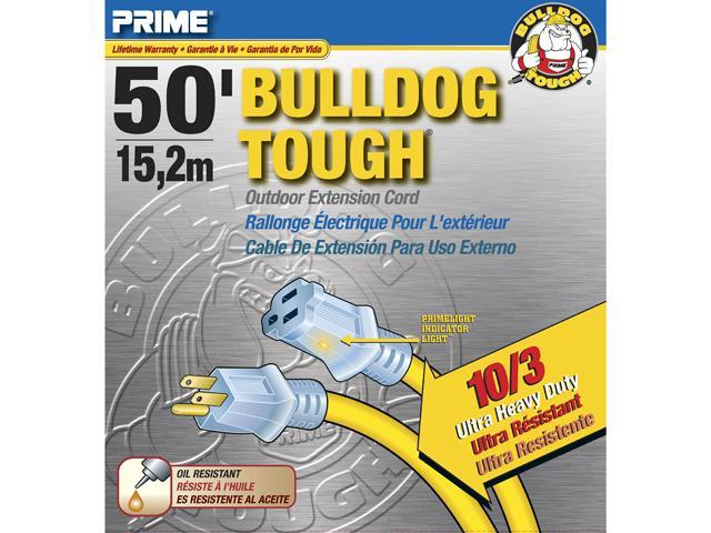Prime Wire Model LT511930 50 ft. Bulldog Tough Extension Cord With ...