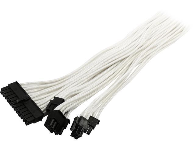 new product timeless design cute cheap Phanteks PH-CB-CMBO_WT 1.64 ft. (0.50 m) Cables - Internal Power Cables  Male to Female