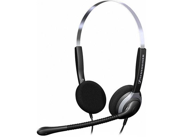 Over The Head Sh250 Double Sided Headset With Omni Directional
