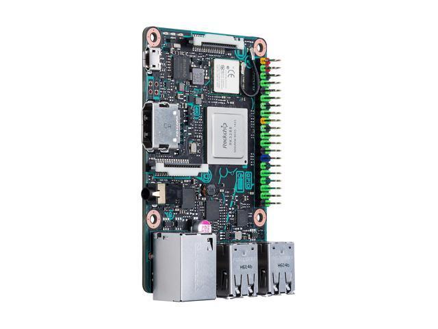 ASUS SBC Tinker Board RK3288 SoC 1 8 GHz Quad-Core CPU, 600 MHz Mali-T764  GPU, 2GB - Newegg com