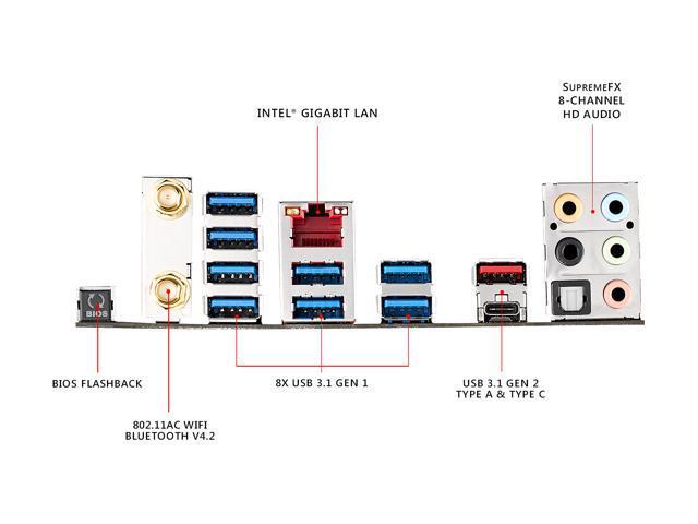 ASUS ROG Strix X399-E Gaming sTR4 AMD X399 SATA 6Gb/s USB 3 1 Extended ATX  AMD Motherboard