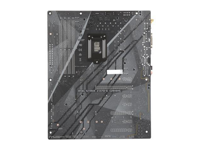 Used - Like New: ASUS ROG Strix Z370-E Gaming LGA 1151 (300 Series) ATX  Intel Motherboard - Newegg com