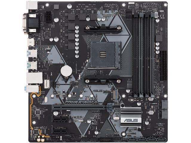 ASUS PRIME B450M-A/CSM AM4 Micro ATX AMD Motherboard - Newegg com